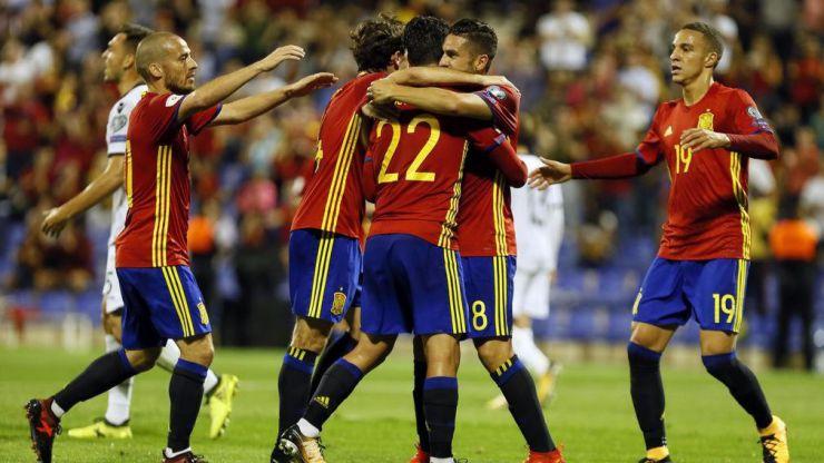 España estará en el Mundial de Rusia el próximo verano