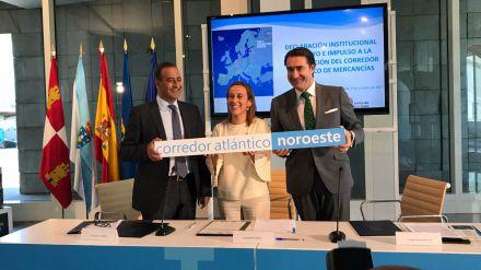 Castilla y León, Galicia y Asturias se unen por la integración del noroeste en el Corredor Atlántico de Transporte
