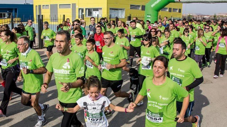 A por los 2.000 dorsales: carrera contra el cáncer de Rivas