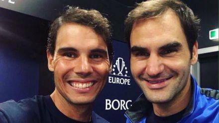 Federer derrota a Nadal y reina en Shanghái