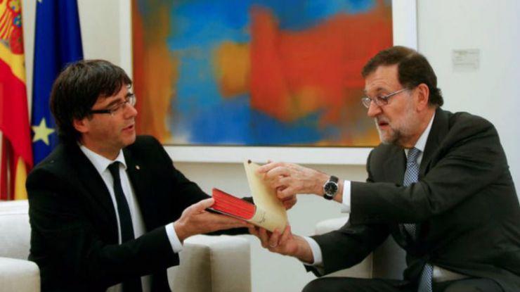 Rajoy lanza el órdago definitivo a Puigdemont