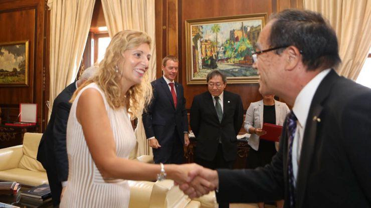 Las ciudades de Castellón y Ube abren una vía para el intercambio económico