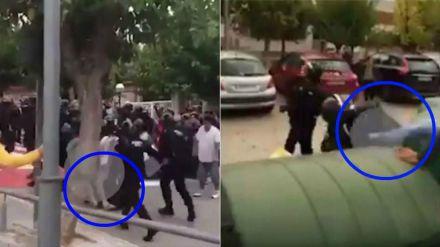 Detenido por propinar una patada en la cabeza a un guardia civil el 1-O