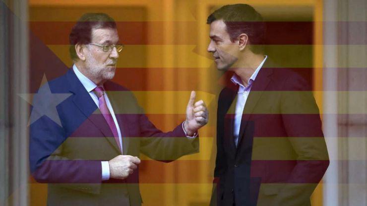 Pacto entre PSOE y PP para celebrar elecciones en Cataluña en enero