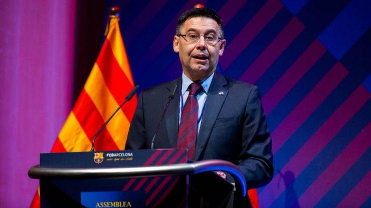 """Bartomeu: """"La viabilidad del Barça y de LaLiga pasa porque sigamos juntos"""""""