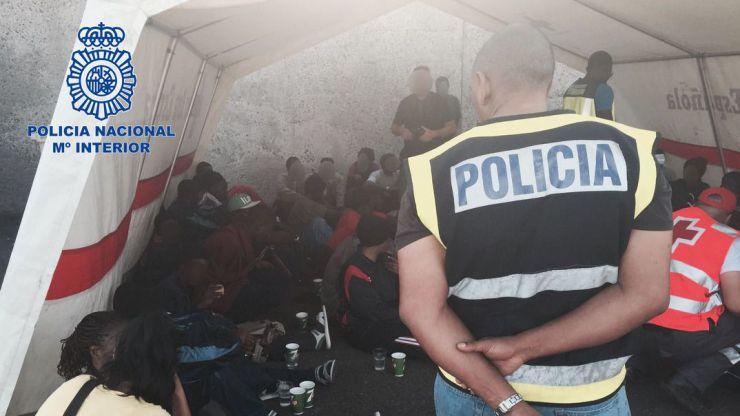 Traficaron con centenares de ciudadanos subsaharianos en pateras con destino a las Islas Canarias