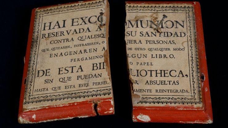 La Junta de Castilla y León restaura 18 documentos de la Biblioteca Histórica de la Universidad de Salamanca