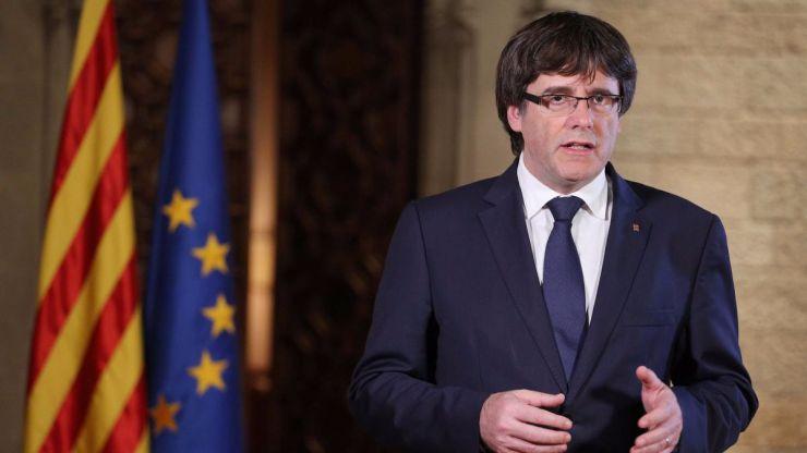 Puigdemont podría comparecer en el Senado en el debate sobre el 155