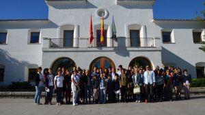 Villanueva de la Cañada recibe esta semana la visita de alumnos de cuatro países europeos