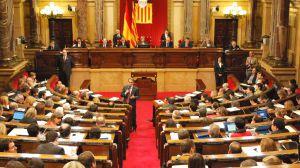 Pleno monográfico del 155 en el Parlament