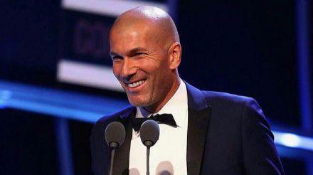 Zidane es nombrado The Best entrenador