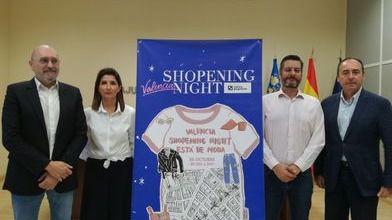 El pequeño comercio de Valencia celebra la XII edición de la Shopening Night