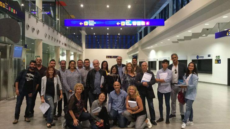 El aeropuerto de Castellón se promociona ante una treintena de agencias de viajes de la Comunitat Valenciana