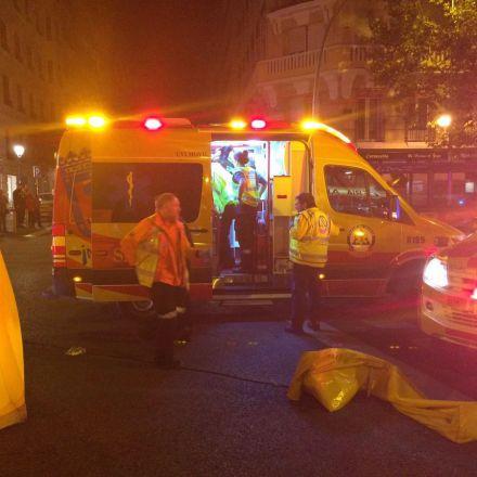 Un conductor 'fantasma' deja muy grave a un peatón en Madrid