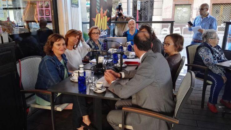 El Ayuntamiento de Jaén participa en el programa inaugural del 'Abecedario solidario' de Uniradio