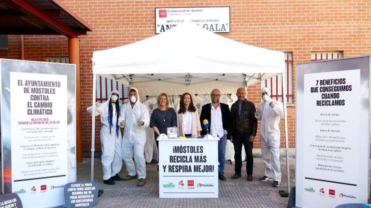 'Móstoles recicla más y respira mejor', nueva campaña del Ayuntamiento