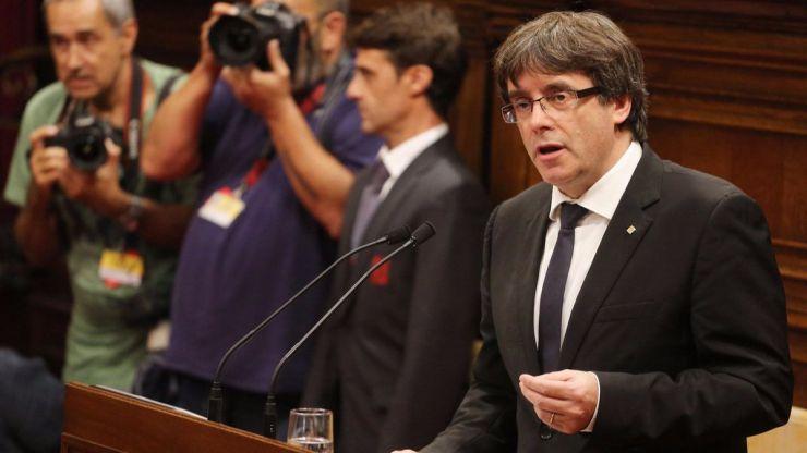 Puigdemont no irá finalmente al Senado