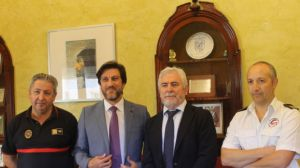 El Ayuntamiento de Huelva y la Diputación Provincial acuerdan actuar conjuntamente en casos de incendios y salvamentos