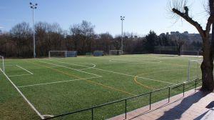 El Campo de Fútbol de Villanueva de la Cañada abre sus puertas tras las obras de mejora