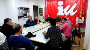 Izquierda Unida Ávila muestra su apoyo a los trabajadores de AN Scoop Avilaves