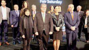 Huelva es presentada en Bilbao como ciudad oficial del movimiento cultural Fair Saturday 2017