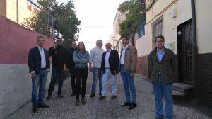 El Ayuntamiento de Jaén visita el barrio de Antonio Díaz