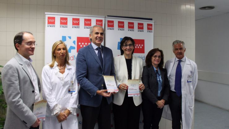 Presentación en Pozuelo de la campaña de vacunación frente a la gripe estacional