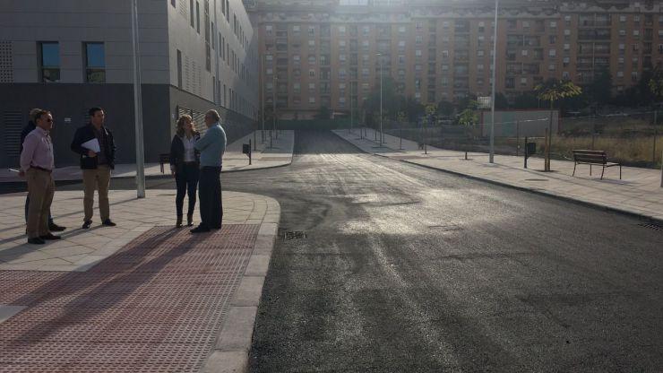 El Ayuntamiento de Jaén finaliza las obras de la calle Cataluña con una rebaja de casi 100.000 euros