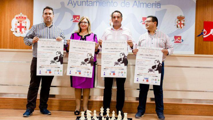 Almería se abre a ajedrecistas de todo el mundo gracias al IV Festival Internacional Juan Martínez Sola