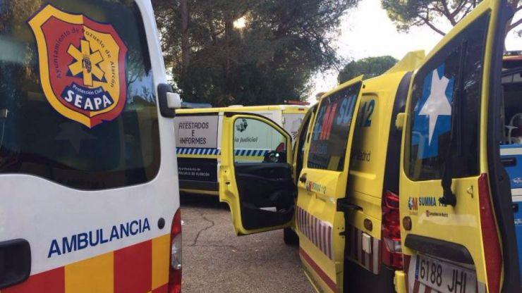 Fallece una mujer en Pozuelo tras ser atropellada por un familiar que daba marcha atrás en su garaje