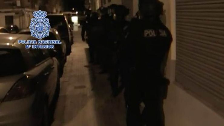 Detenido en Sagunto (Valencia) un marroquí integrado en el aparato de captación de DAESH