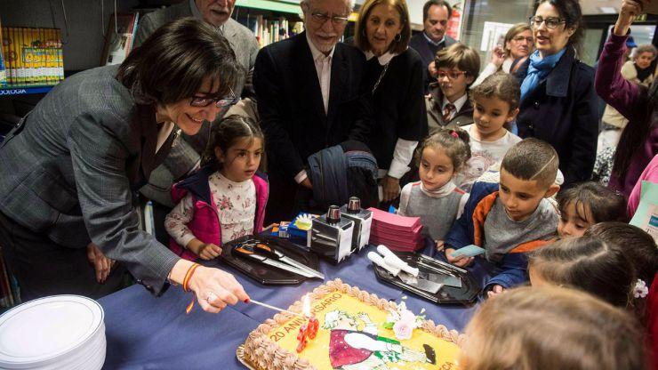 Pozuelo de Alarcón celebra el 20 cumpleaños de la Biblioteca Municipal Miguel de Cervantes