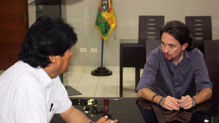 La cúpula de Podemos visita Bolivia