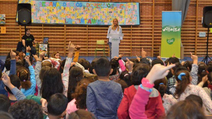 Collado Villalba celebra la 'VII Semana de los Derechos de la Infancia'