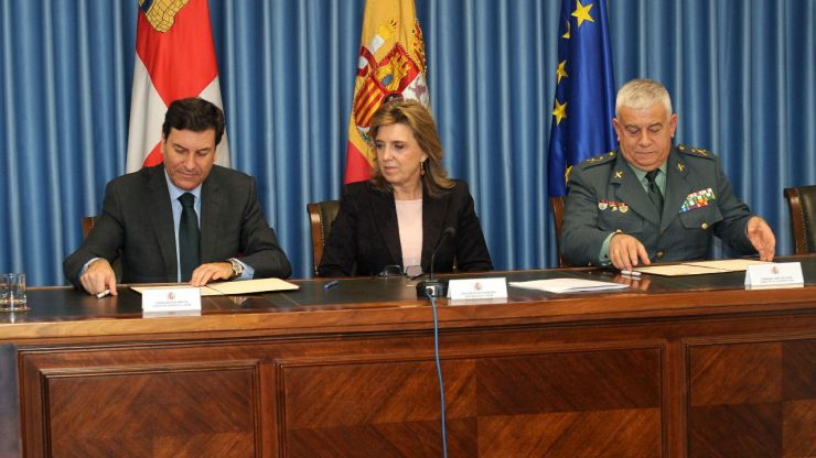 La Consejería de Empleo y la Guardia Civil firman un acuerdo de colaboración en Prevención de Riesgos Laborales
