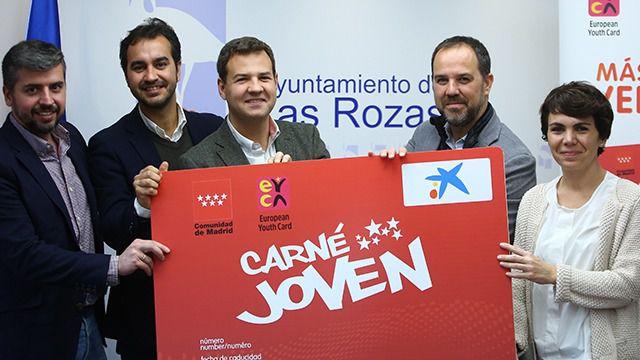 Los jóvenes de Las Rozas ya pueden obtener el Carné Joven de la Comunidad de Madrid sin esperas
