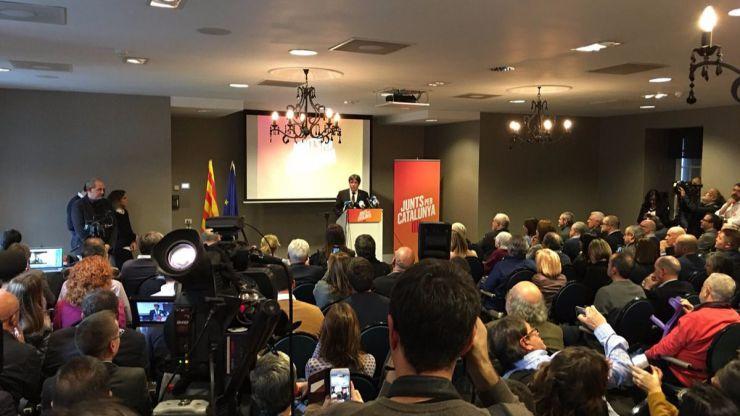 ¿Se están intentando deshacer Esquerra y el PDECat de Puigdemont?