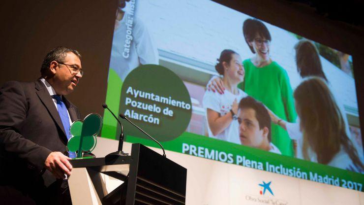 """El Ayuntamiento de Pozuelo de Alarcón galardonado con el premio """"Institución por la Inclusión"""""""