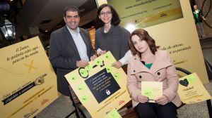Madrid se llena de mensajes de apoyo a los pacientes con psoriasis