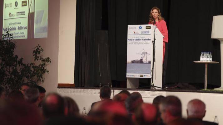 Amparo Marco reclama al ministro de Fomento celeridad para el Corredor Mediterráneo y las infraestructuras estratégicas de Castellón