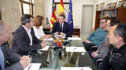 Puig anuncia inversiones para vivienda social, sanidad y post-trasvase Júcar-Vinalopó en Aspe