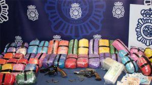 """Desarticulada una organización dedicada a la comisión de """"vuelcos"""" en operaciones de narcotráfico"""