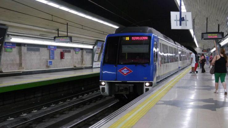 Servicios mínimos de hasta el 62% en los paros de los maquinistas de Metro