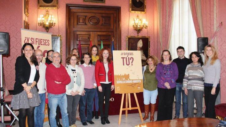 El Ayuntamiento lanza la campaña '¿Y si fueses tú? Sevilla Ciudad Abierta'