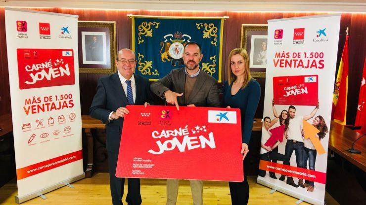 El Escorial expedirá directamente el Carné Joven de la Comunidad de Madrid