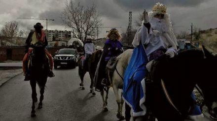 Niños y niñas de la Cañada Real recibieron regalos de los Magos