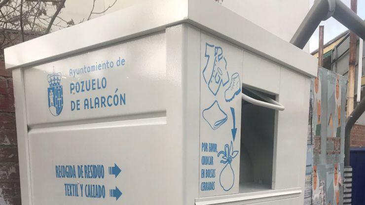 Pozuelo instala 40 contenedores para la recogida de ropa, textil y calzado en la vía pública