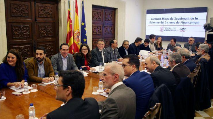 Puig pide que entregue a la Comunitat Valenciana los 1.500 millones de liquidación del ejercicio 2016