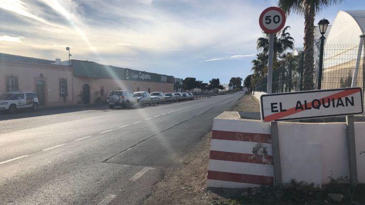 Seis empresas optan a la ejecución de las obras de la carretera del aeropuerto a El Alquián en Almería