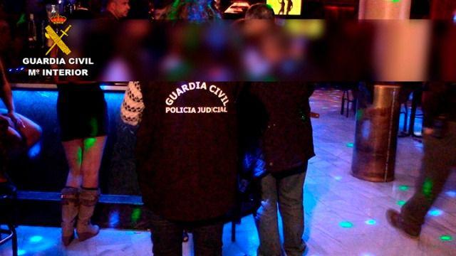 Liberadas dos menores de edad que se encontraban en un club de alterne de Mocejón (Toledo)